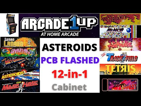 Arcade1UP Asteroids PCB Flashed - 12 in 1 Cabinet & 17-in-1 Cabinet - GeekSales - BerryBerrySneaky from Scott Farrar