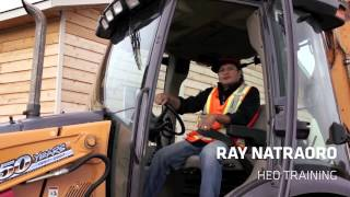 Ray Natraoro - Heavy Equipment Operator Training