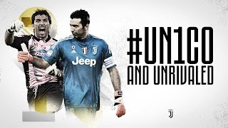 #UN1CO and UNRIVALED: Gianluigi Buffon's Juventus career in numbers