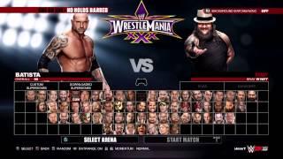 WWE 2K15 CAW error