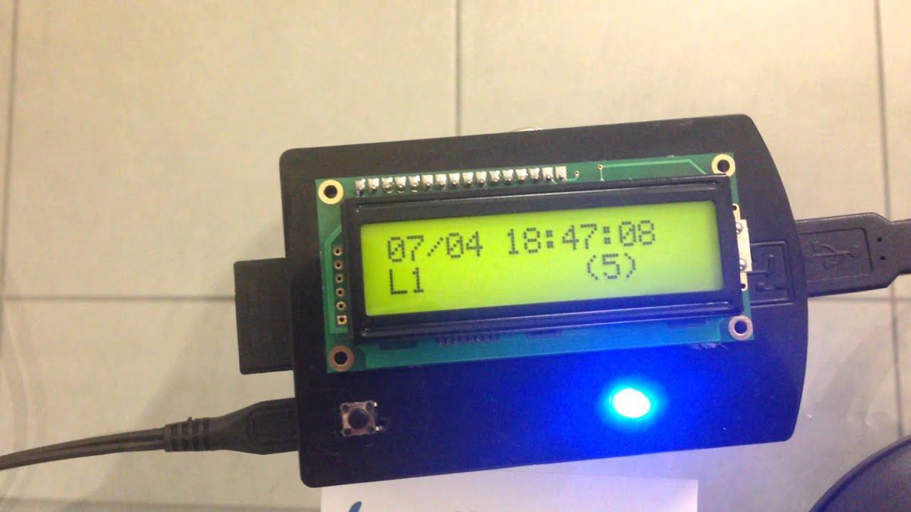 (RaspBarcode) Raspberry PI & Barcode auto-sensing scanner