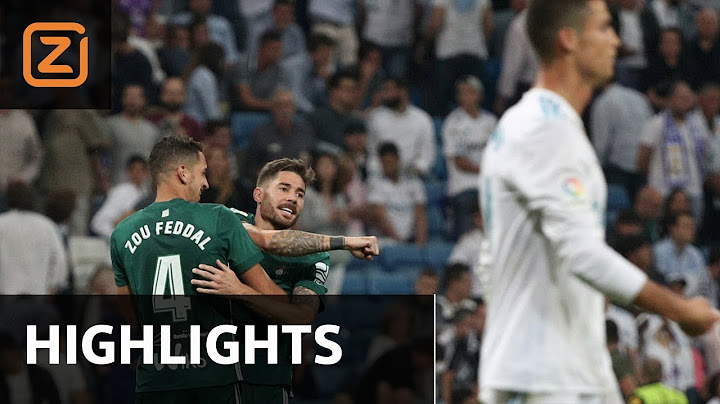 samenvatting  real madrid  real betis  2092017