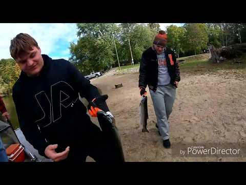 Fall Salmon Fishing On The St. Joe River In Michigan