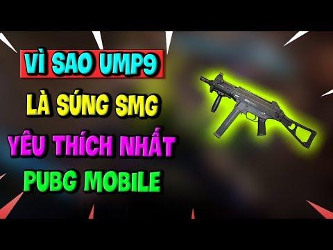 Vì sao UMP9 là Khẩu súng SMG được yêu thích nhất PUBG Mobile | Toại Tinh Tế