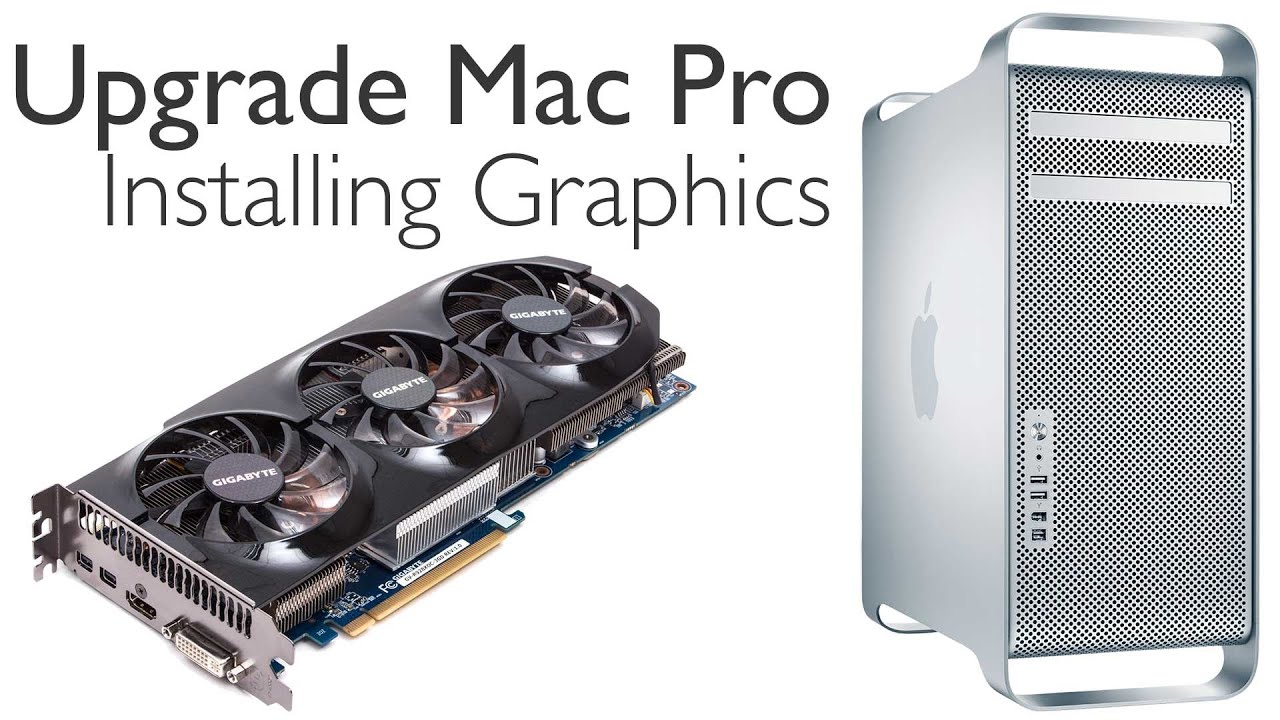 Updating your graphics card mac