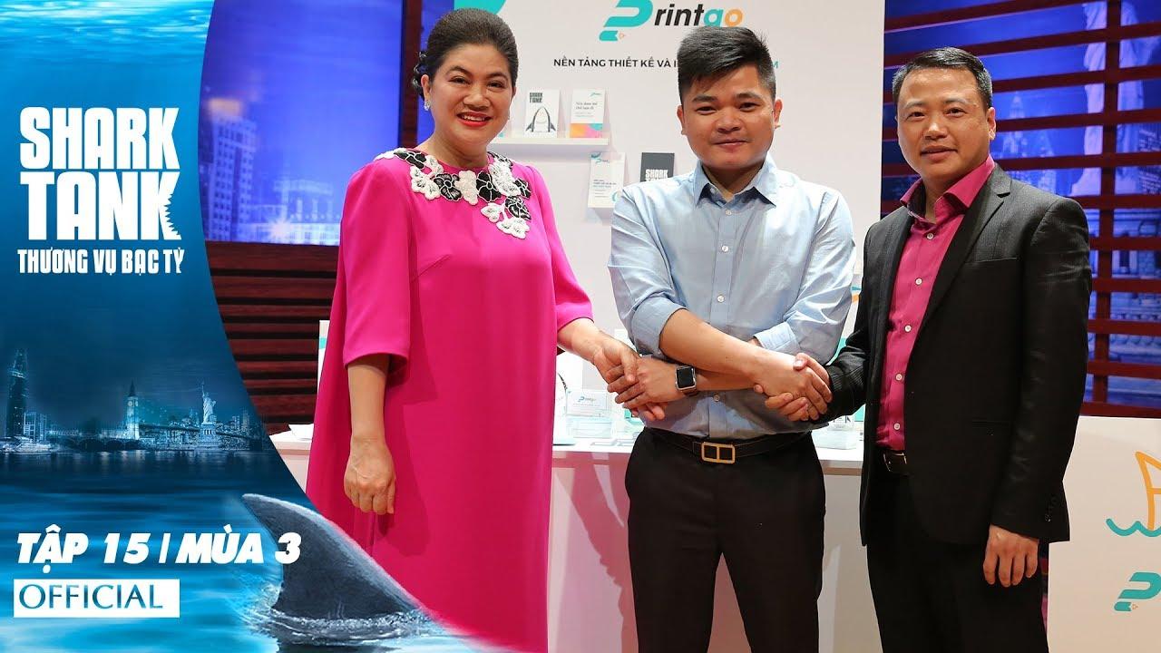 Shark Tank Việt Nam Tập 15 Full | Mùa 3 | Cơn Mưa Offer Từ Các Shark