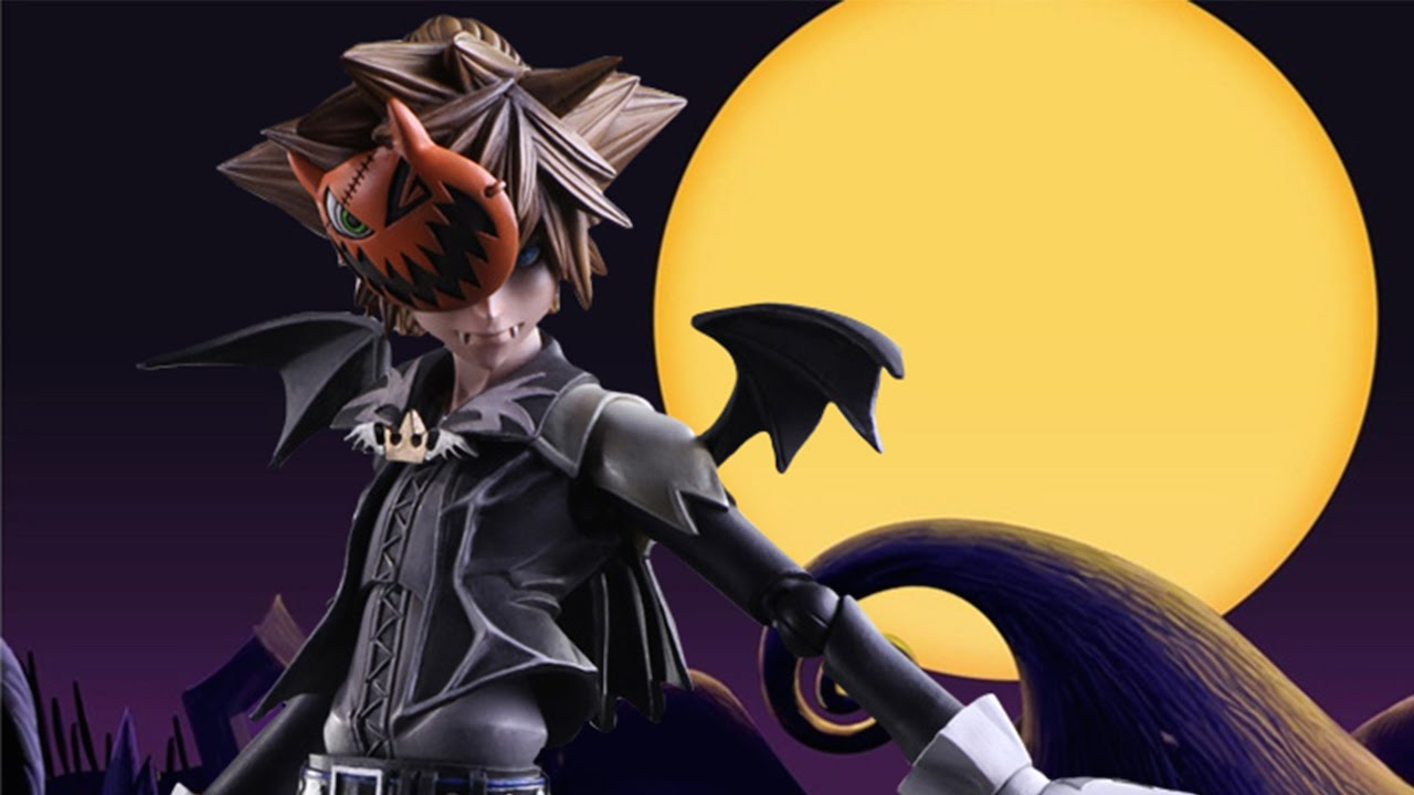 Kingdom Hearts Halloween Town Sora Figure Unboxing - YouTube