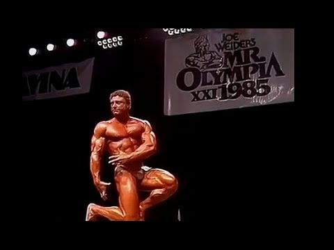 Frank Richards - Mr. Olympia 1985 Posing