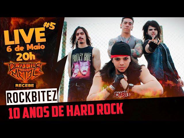 ROCKBITEZ | O Hard Rock ainda tem espaço na era do cancelamento? | Live #5