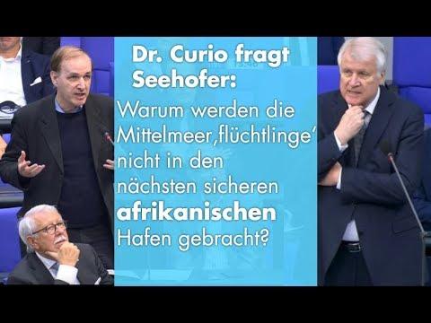 Seehofer: leere Antworten auf klare Fragen   Dr. Gottfried Curio