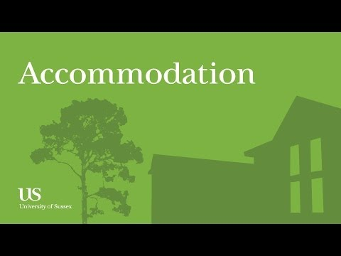 First impressions of the University of Sussex: accomodation