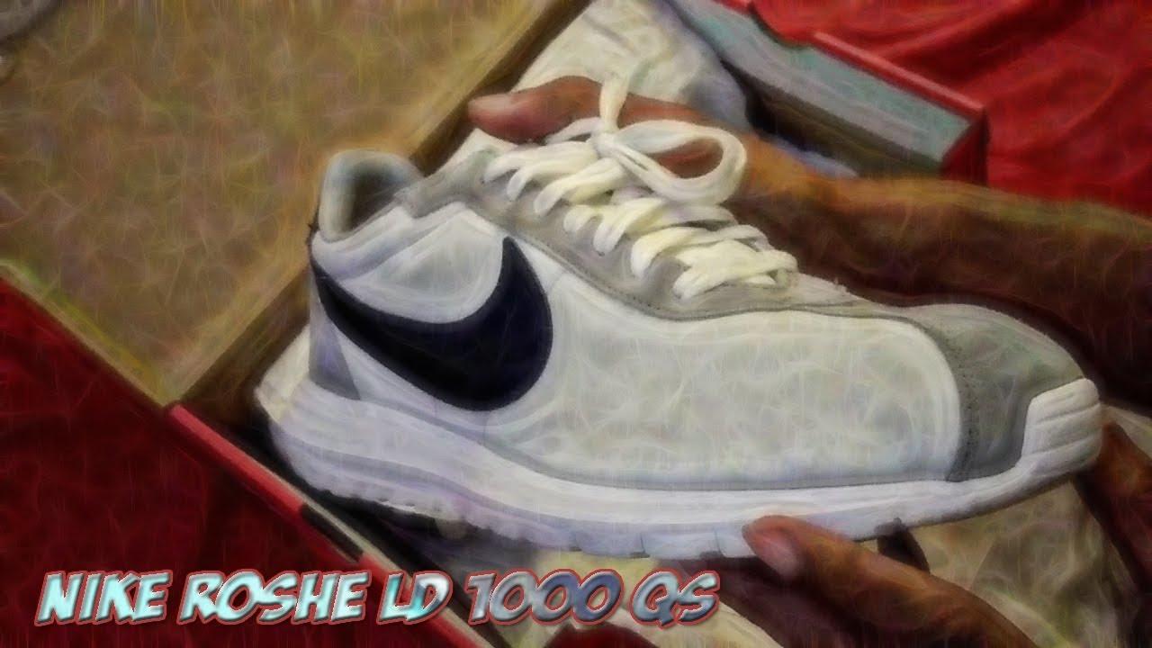 promo code e9f63 99067 Nike Roshe LD 1000 QS - Unboxing - Product Review - Vlog