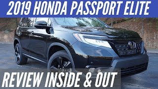 2019 Honda Passport Elite Review - Inside and Out