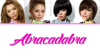 Download Abracadabra - Brown Eyed Girls COLOR-CODED LYRICS [HAN/ROM/ENG]