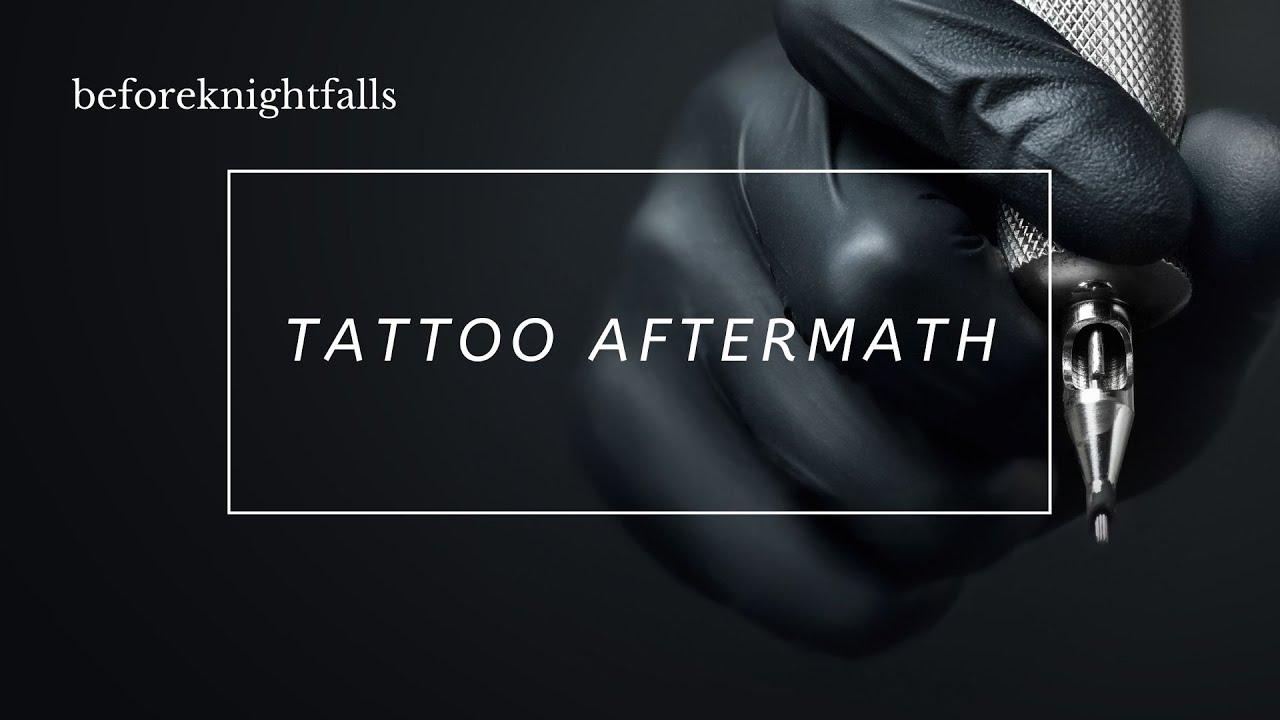 ASMR Boyfriend: Tattoo Aftermath