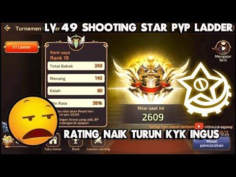 Rating Naik Turun T_T !!! Dragon Nest M - Lv 49 Shooting Star PvP LADDER Rating 2600