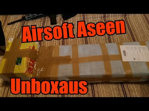 Airsoft Aseen Avaus/Unboxaus