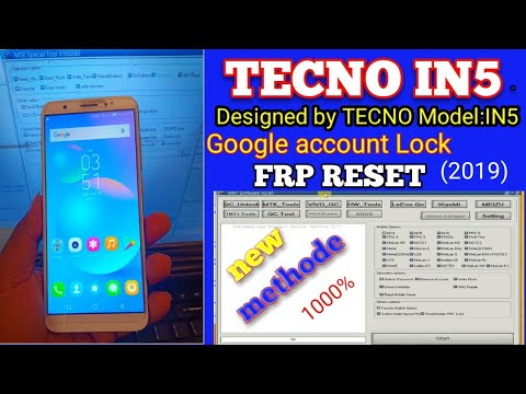 TECNO IN5 FRP/MRT DONGLE V2 60 FRP RESET 100%TECNO IN5 FRP