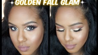 Golden Fall Glam