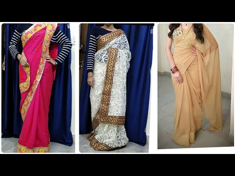 Buy Online All Materials!! And Design Your Saree By Using Di