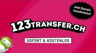 123transfer.ch - Jetzt .ch Domains transferieren