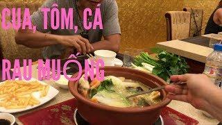Du lịch Vịnh Hạ Long- Vợ Việt Chồng Tây ăn lẩu cua ngon tuyệt vời // Cuộc Sống Canada