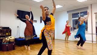 Обучение в Москве 2017 Индийские танцы.