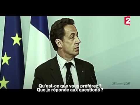 2007 G8 en Grande Bretagne  Quand Vladimir Poutine humilia Nicolas Sarkozy