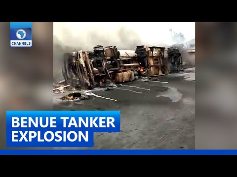 Many Feared Dead In Benue Tanker Explosion