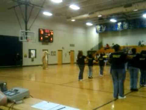 Saluda Trail Middle School Steppers