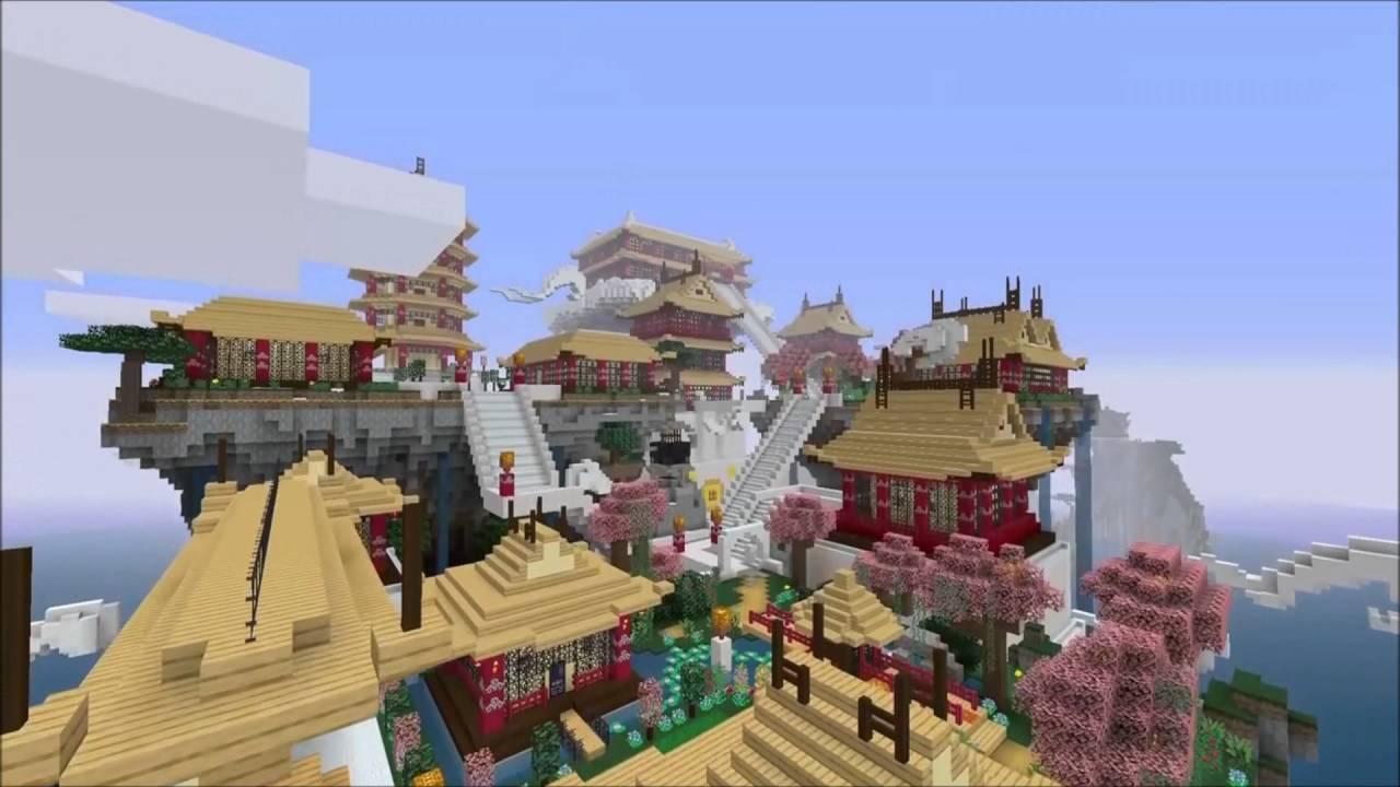 minecraft wii u edition mash up mythologie chinoise youtube. Black Bedroom Furniture Sets. Home Design Ideas