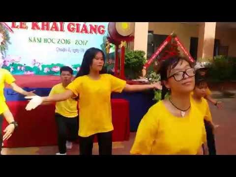 Lễ Khai giảng - Bống bống bang bang THPT Nguyễn Văn Linh