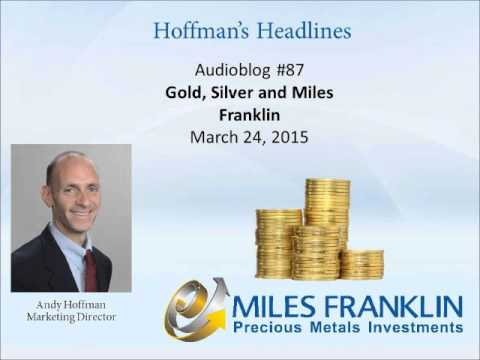 Audio blog # 87 - Gold, Silver and Miles Franklin