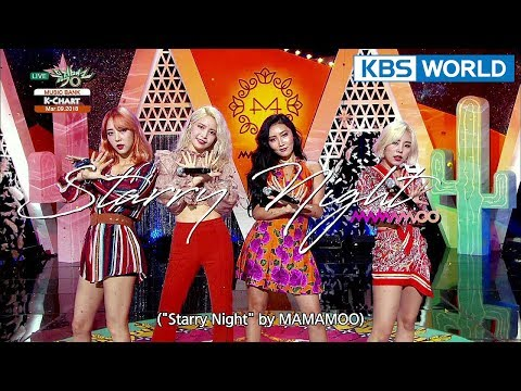 [Music Bank K-Chart] 2nd Week of March - MAMAMOO, Kim Sung Kyu (2018.03.09)