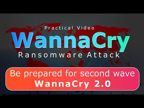 WannaCry Ransomware Attack Demonstration | How To Stay Safe! [Hindi- हिन्दी]