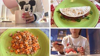 WHAT I EAT IN A WEEK - COSA MANGIO IN UNA SETTIMANA -