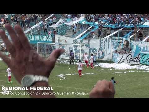 REGIONAL FEDERAL: Atlético Concepción derrotaba a Sportivo Guzmán pero el duelo no logró finalizar