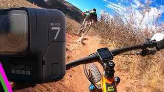GoPro Hero 7 Black Review for Mtn Biking - Hypersmooth Stabilization