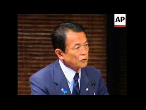 Aso calls opposition irresponsible in debate ahead of election