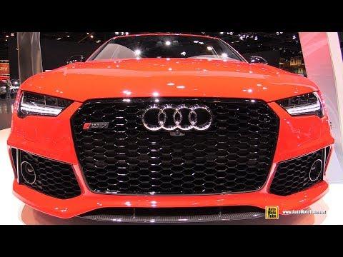 2017 Audi RS7 Exterior and Interior Walkaround 2017 Chicago Auto Show
