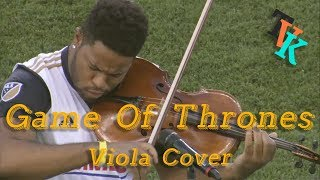 Game Of Thrones Theme | Viola Cover | LIVE Halftime Show