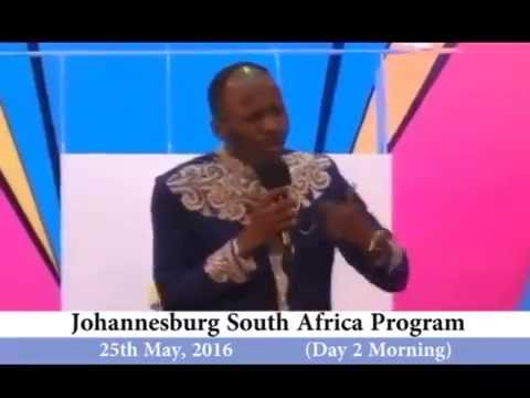 JOHANNESBURG SOUTH AFRICA MAY 2016 MEETING with Apostle Johnson Suleman #day 1 morning