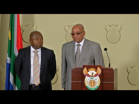 Swearing-in of new Minister David van Rooyen