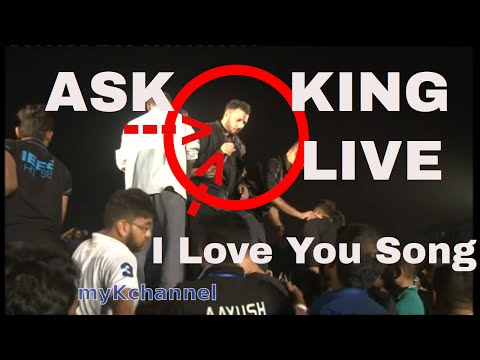 ASS KING walks into crowd on i love you song MUST WATCH