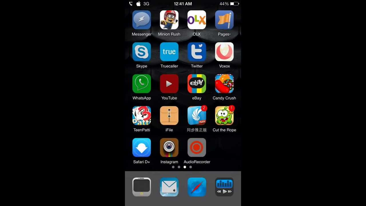 Make Live Wallpapers On The Iphone Using Gif Or Video Use Intolive App Youtube