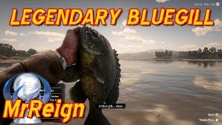 Red Dead Redemption 2 - Hunting The Legendary BlueGill - Legendary Fish Location & Tactics Video