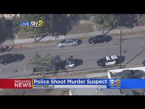 Police Shoot Murder Suspect