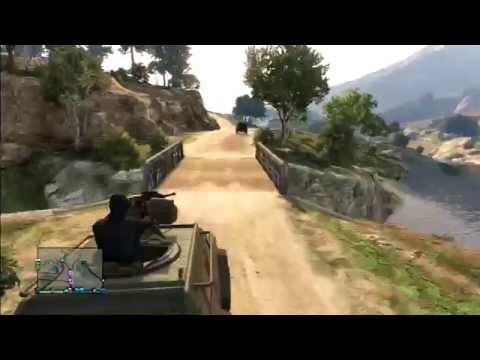 GTA V   Raid #4 sur la base militaire
