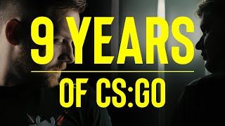 A Tribute to 9 Years Of CSGO