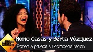 Mario Casas y Berta Vázquez ponen a prueba su compenetración - 'El Hormiguero 3.0'